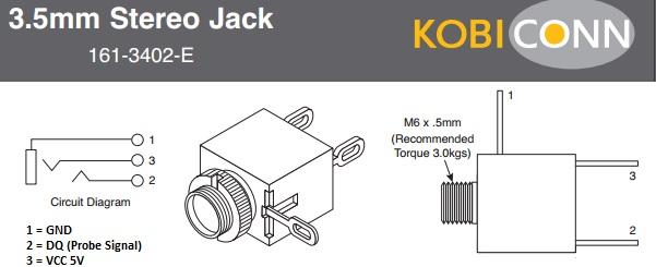 3 5mm Audio Jack Wiring - Wiring Diagram G8  Mm Headphone Jack Wiring on