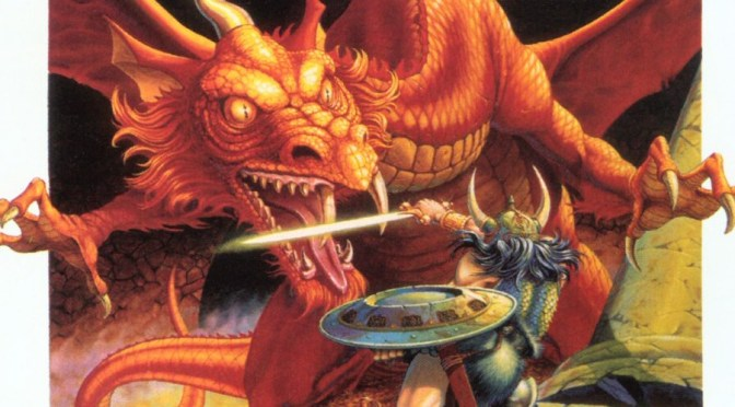 Blast from the Past: D&D Rules Cyclopedia from 1991