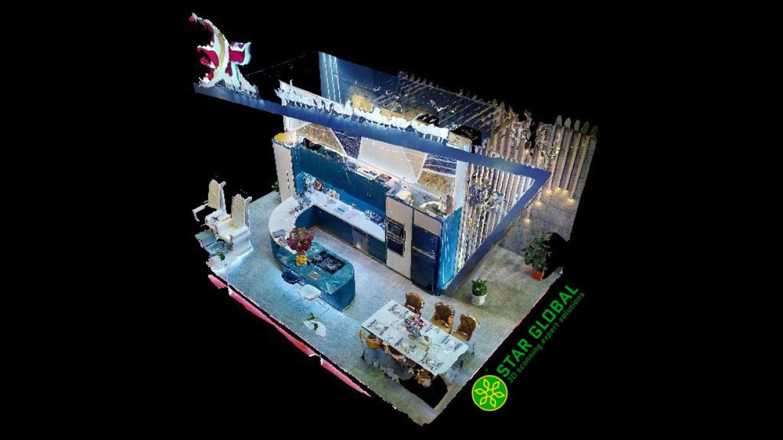 Toàn cảnh khu vực trưng bày SF Home tại VIETBUILD 2020