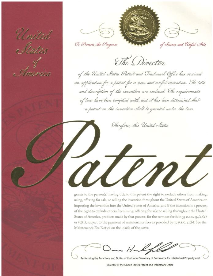 Patent USPTO (Bằng sáng chế Mỹ) cho giải pháp chuyển đổi số 3D - 10,922,881 B2