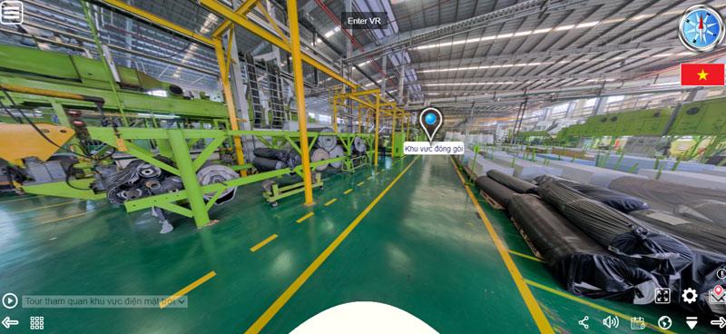 Số hóa 3D nhà máy giúp cho việc quản lý, vận hành trở nên dễ dàng hơn.