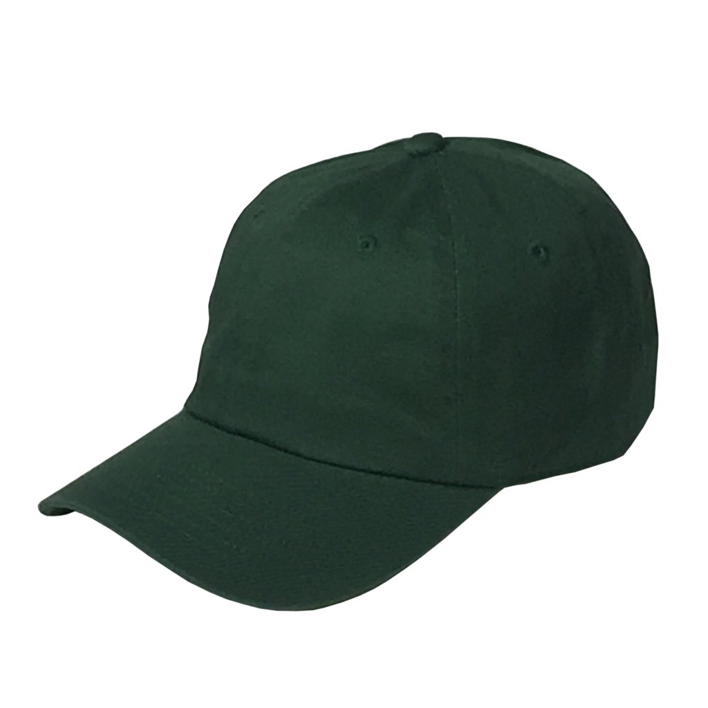 Custom Classic Dad Hat (Embroidered with Logo) - Dark Green - AF2011