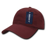 Custom Relaxed Classic Dad Hat (Embroidered with Logo) - Cardinal - Decky 205
