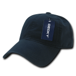 Custom Relaxed Classic Dad Hat (Embroidered with Logo) - Navy - Decky 205