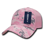 Custom Camo Trucker Baseball Cap (Embroidered with Logo) - PKD Camo - Decky 218