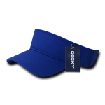 Custom Youth Visors (Embroidered with Logo) - Royal - Decky 7007