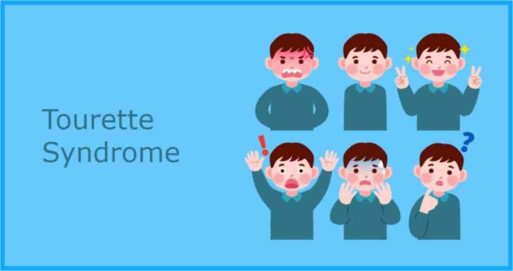 Tourette syndrome symptoms child
