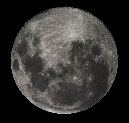 The moon is upside down (as seen from the Southern Hemisphere)