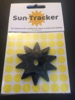 Sun Tracker Window Gel Cling and Stickers to track the Sun