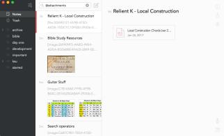 File attachments and search operators