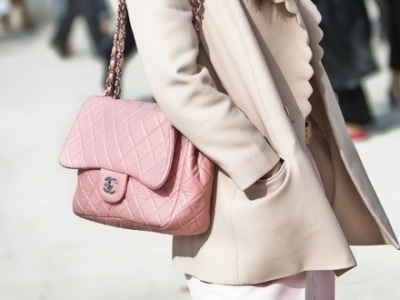 Candy Pink Chanel Quilted Flap