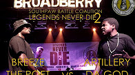 Legends Never Die 2: Breeze The Poet vs Artillery Da God