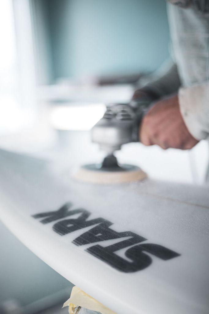 Ponçage Stark surfboards