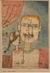 Paul Klee - Adam und die kleine Eva. 1921, 12. Museum of Modern Art, New York, Sammlung Berggruen © starkandart.com