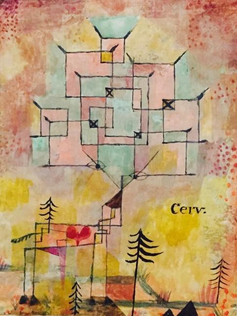 Paul Klee - Der Hirsch. 1919, 202. Musée national de art moderne, Paris Dation, 1992 © starkandart.com