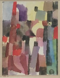 Paul Klee - Hochstrebende Stadtvision, 1915, 54 © starkandart.com