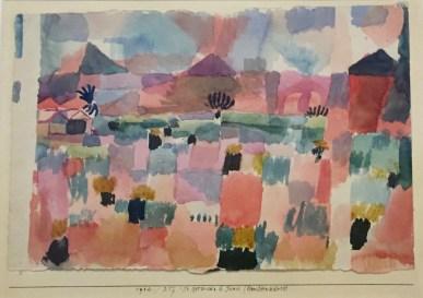 Paul Klee - St. Germain b. Tunis (landeinwärts), 1914,217 Musée national d'art moderne, Paris, Legs de Nina Kandinsky, 1981 © starkandart.com