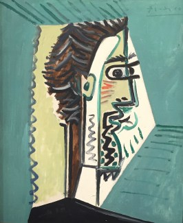 Pablo Picasso, Téte d'Homme, Profil, 9. März 1963, Galerie Thomas, München © starkandart.com