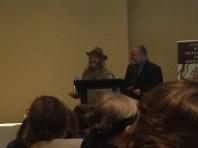 Randy McCharles accepting his Aurora Award.