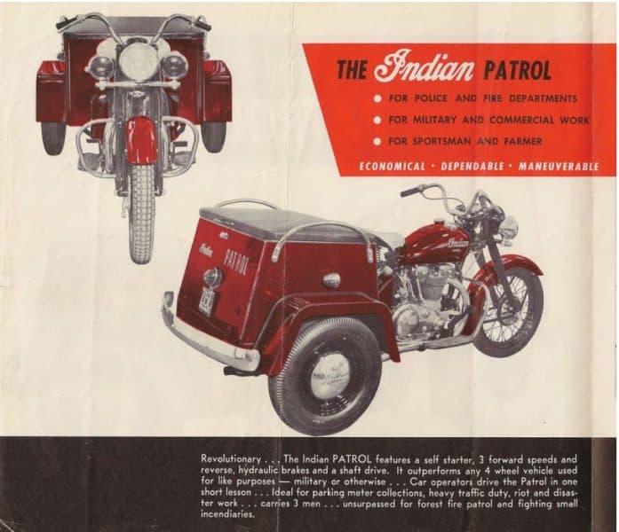 Indian Patrol Vol 2 - Starklite Indian Motorcycles