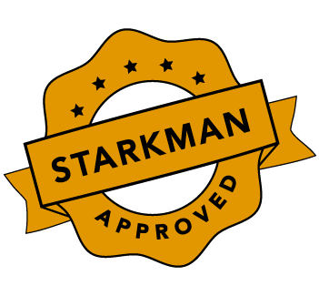 Starkman Approved Logo