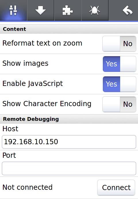 Firefly – Remote JS Shell for Firefox Mobile   stark raving