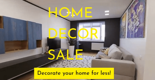Home Decoration Video Demo