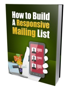 secrets to building an email marketing list