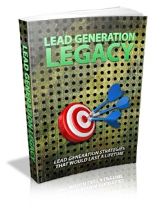 Lead generation strategy, advertising