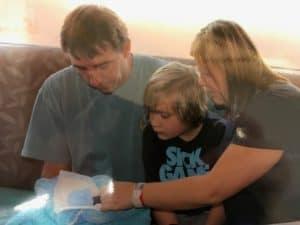 Christian John Keane family
