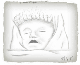 Lily sketch 3