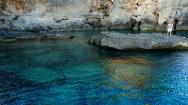 The local swimming hole, next to Bagno Marino Archi