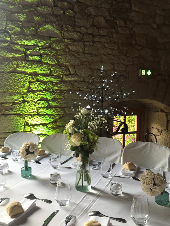 lanniron table mariage led pierre quimper chateau