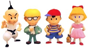Earthbound Clay Figures Art 1