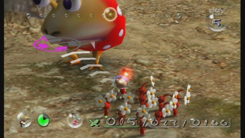 Mind Controlled Pikmin are 47% more delicious than normal Pikmin, but they cause flatulence.