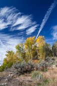 The fall weather was glorious in Mount Carmel, Utah on October 18, 2014