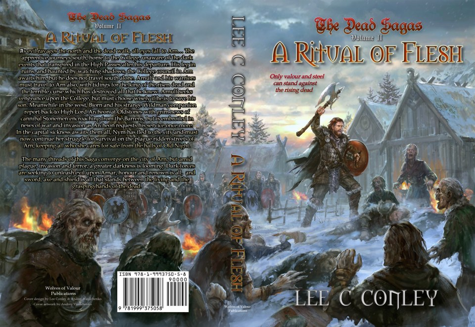 A Ritual of Flesh by Lee C Conley spread cover