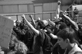 Demonstration against the Brenner Border (Italy- Austria)