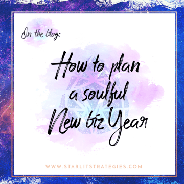 Plan your business's 2017 plan - soulfully