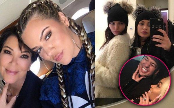 Rob Kardashian & Blac Chyna Engaged