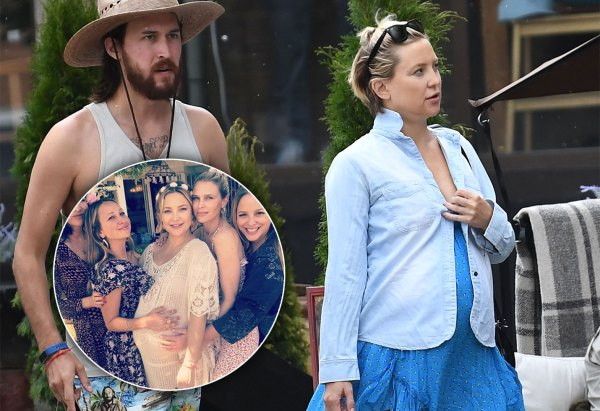 Inside Kate Hudsons Floral Baby Shower As Her Due Date