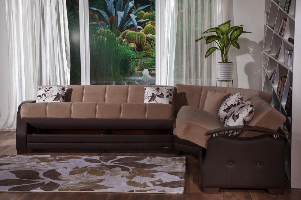 Caroline Sectional Sofa Bed Star Modern Furniture