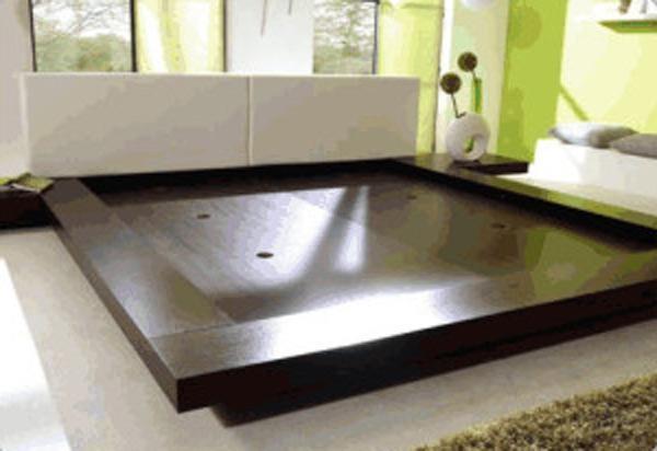 Opa Japanese Style Platform Bed Star Modern Furniture