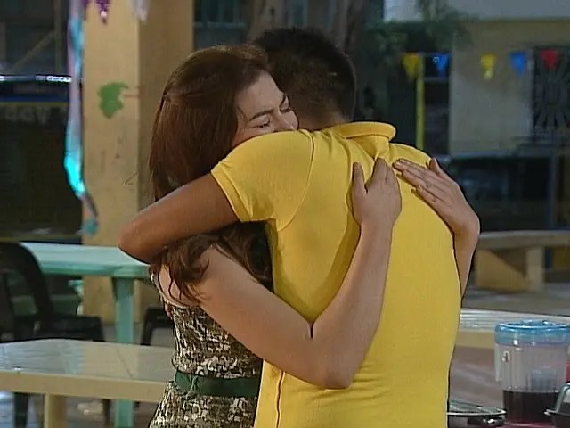 Angelito and Rosalie reunion
