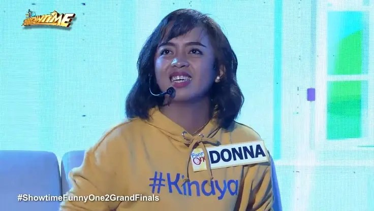 Watch Donna Cariaga S P1 M Worth Funny One Performance On It S Showtime Starmometer