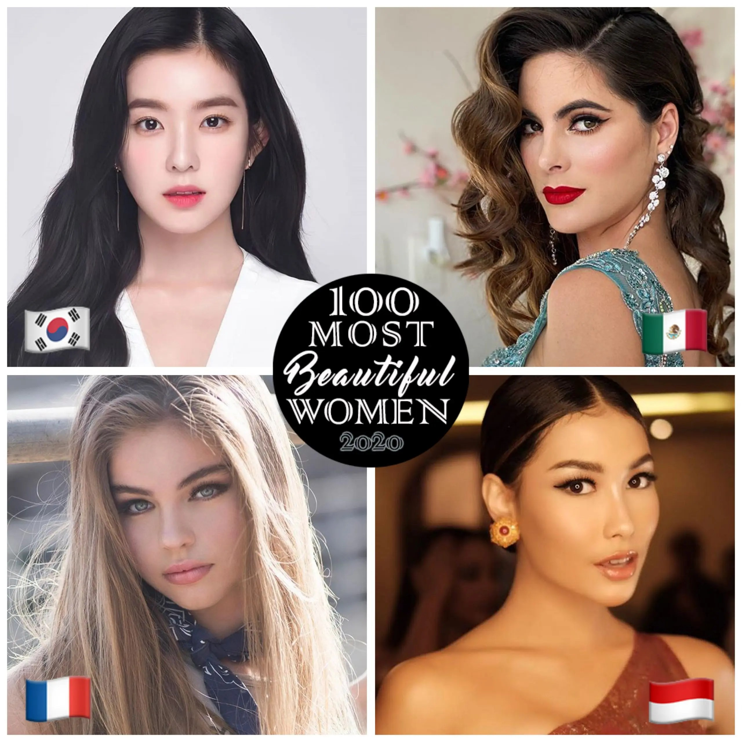 Girl the world attractive most in the Top 20