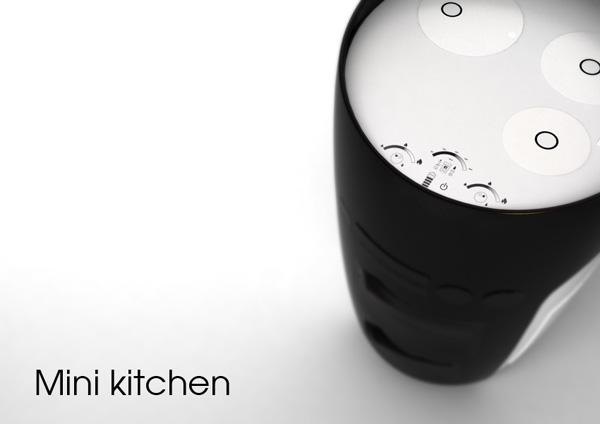 Minikitchen - All-in-one Appliance by Adriano Conti, Corrado Galzio, Alex Innamorati » Yanko Design