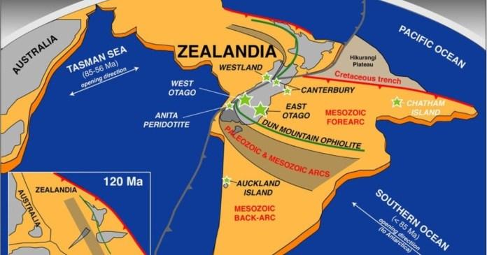 New Research Reveals Violent Birth of Continent Zealandia