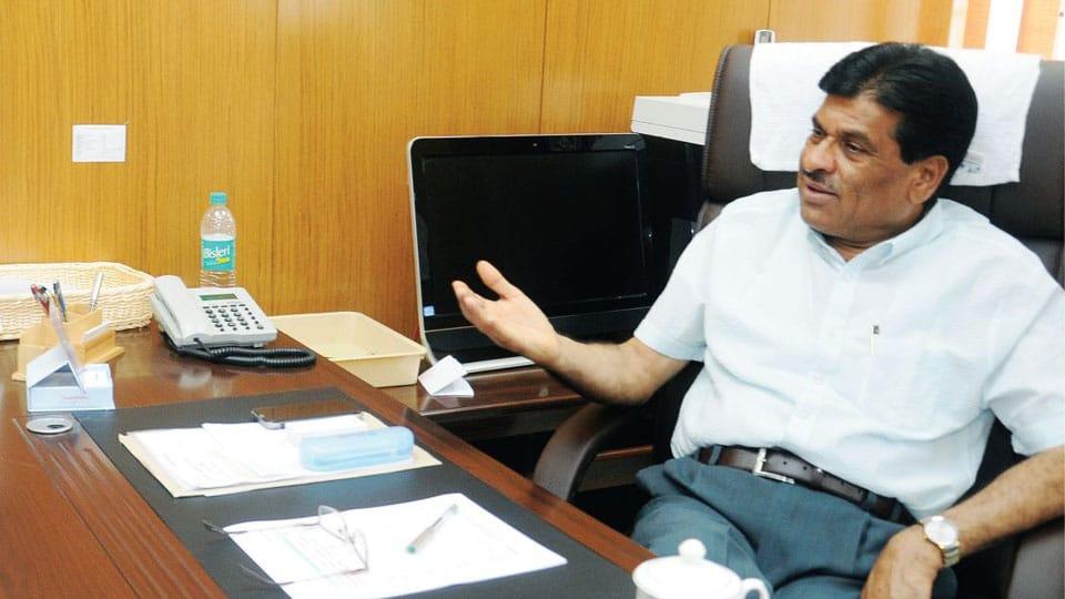 Former UoM V-C Prof K.S. Rangappa to join JD(S)