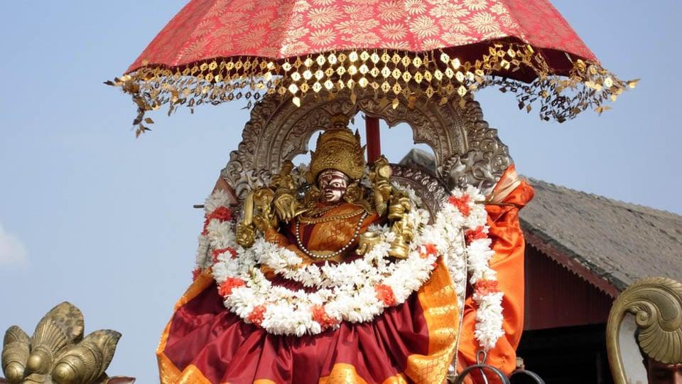 Navaratri, the 9-day festival of Goddess Chamundeshwari